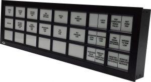 3x8 Alarm Panel Annunciator