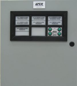 Annunciator Panel mounted