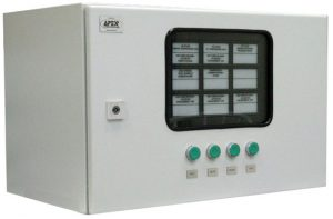 Annunciator Panel Inside Enclosure